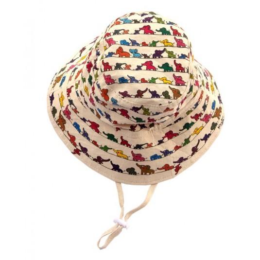 OElephants Greetings- Kid Hat