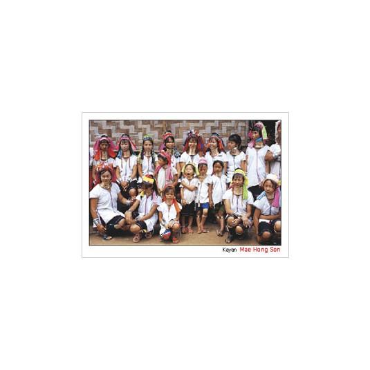 A GROUP PHOTO OF KAYAN, MAE HONG SON