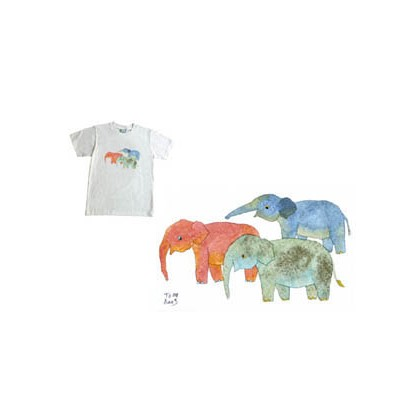 3 COLORS ELEPHANT