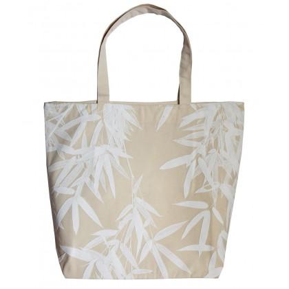 Bamboo 5 Puf White
