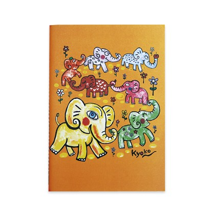 ELEPHANTS AND FLOWERS