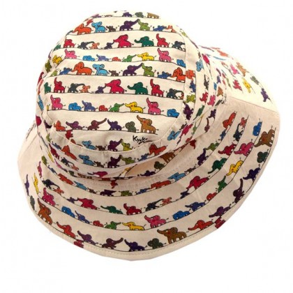 Eephants Greetings - Adult Hat