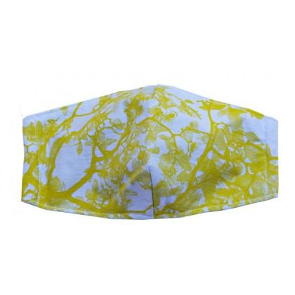 Magnolia - Adult Blue Mask