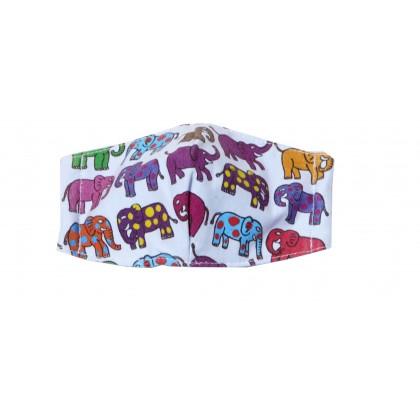 12 Elephants - Kid Blue Mask