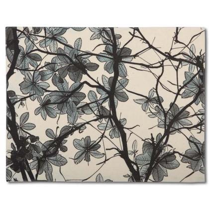 Sea Almond Leaves / Blue
