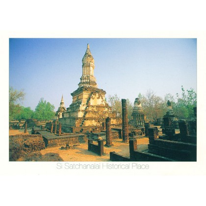 WAT CHEDI CHET THAEO, SI SATCHANALAI HISTORICAL PLACE