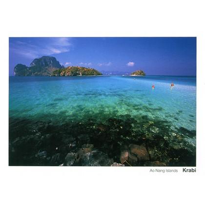 THE SEA AT AO NANG ISLANDS, KRABI